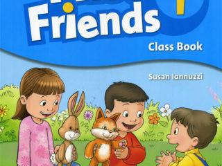 First Friends 1 - первая ступень двухуровневого курса английского языка для дошкольников. Каждый урок сопровождается песенками, считалочками, и шутливыми заданиями.